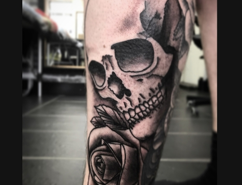Tattoo by Jamie Scott